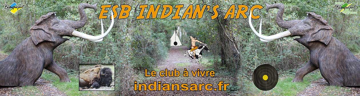 ESB Indian's arc  >>—>  Le club de Tir à l'Arc de Blanquefort